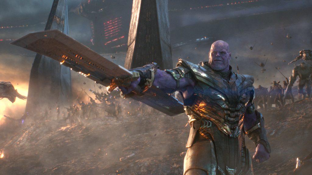 Thanos em Vingadores Ultimato