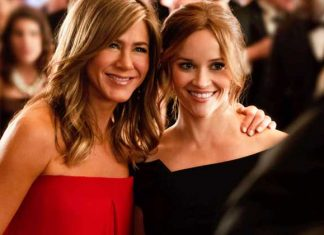 Jennifer Aniston e Reese Whiterspoon em The Morning Show