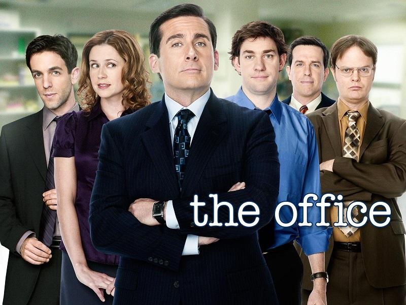 """Versão americana de """"The Office"""", estrelada por Steve Carrell e John Krasinski (Reprodução)"""