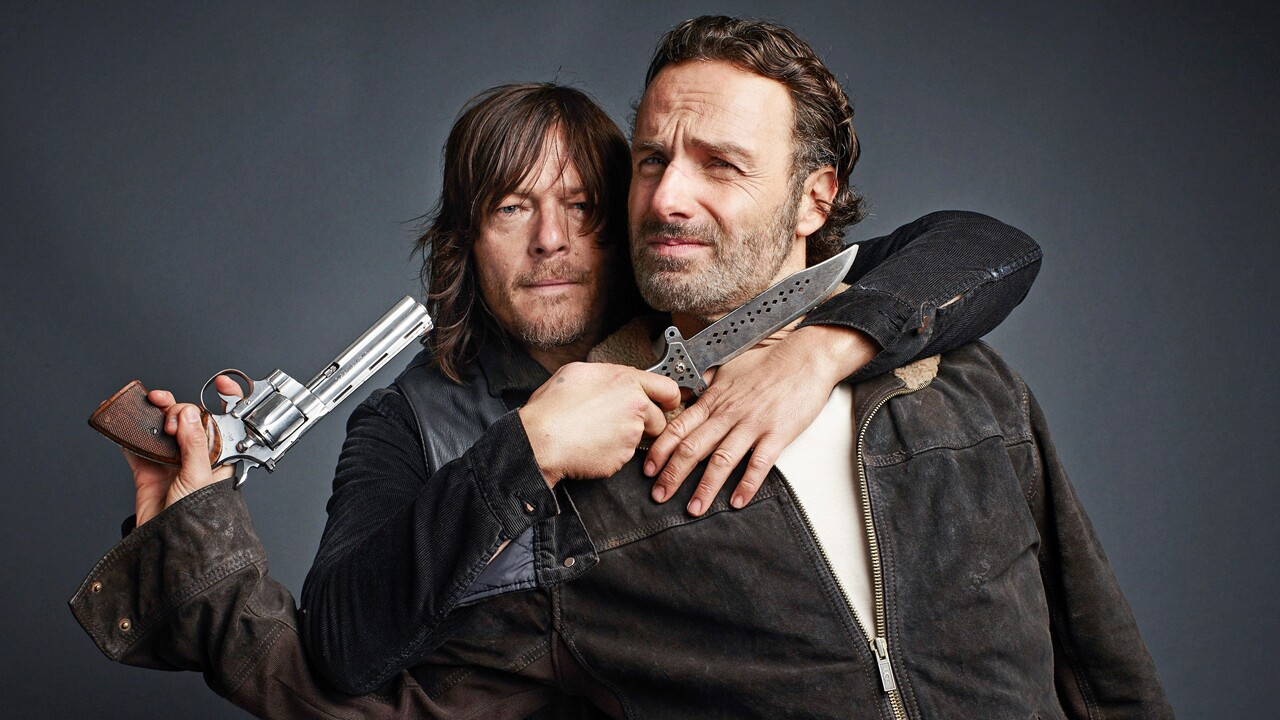 Norman Reedus e Andrew Lincoln de The Walking Dead