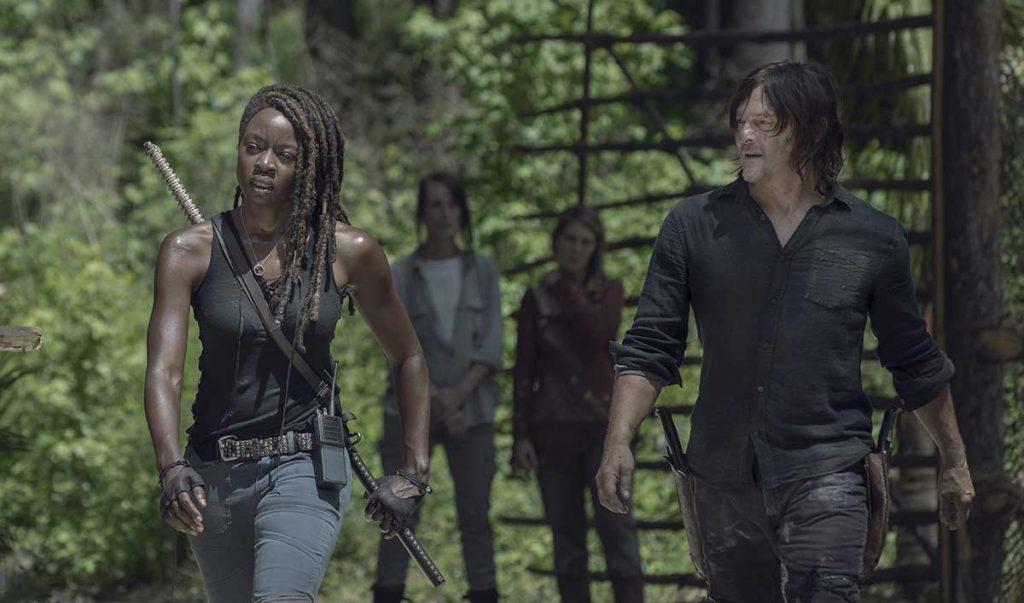 Cena da decima temporada de The Walking Dead