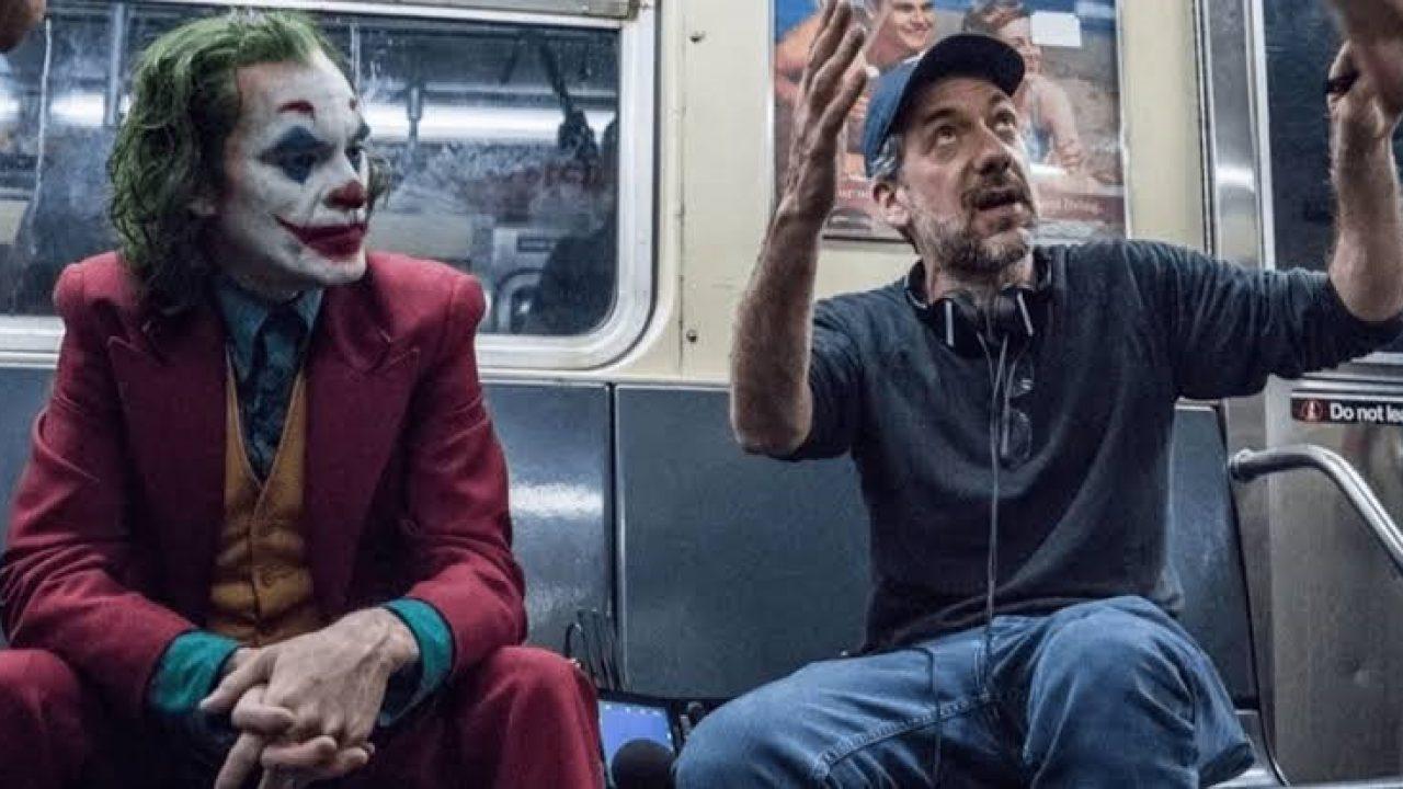 Todd Phillips dirigindo Joaquin Phoenix em Coringa