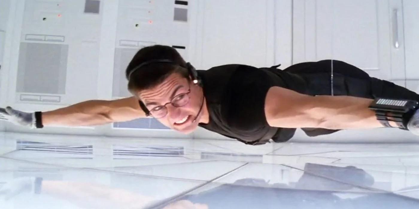 Tom Cruise em Missão Impossível