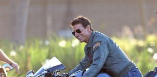 Tom Cruise em Top Gun Maverick