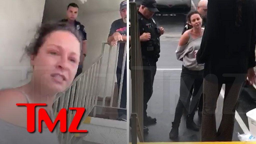 Vanessa Cloke de The Walking Dead em momento da prisão