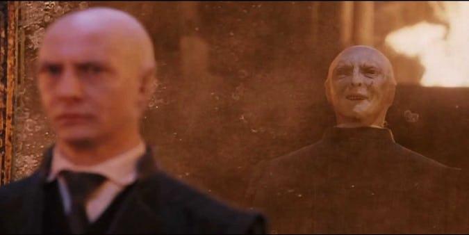 Voldemort em Harry Potter e a Pedra Filosofal