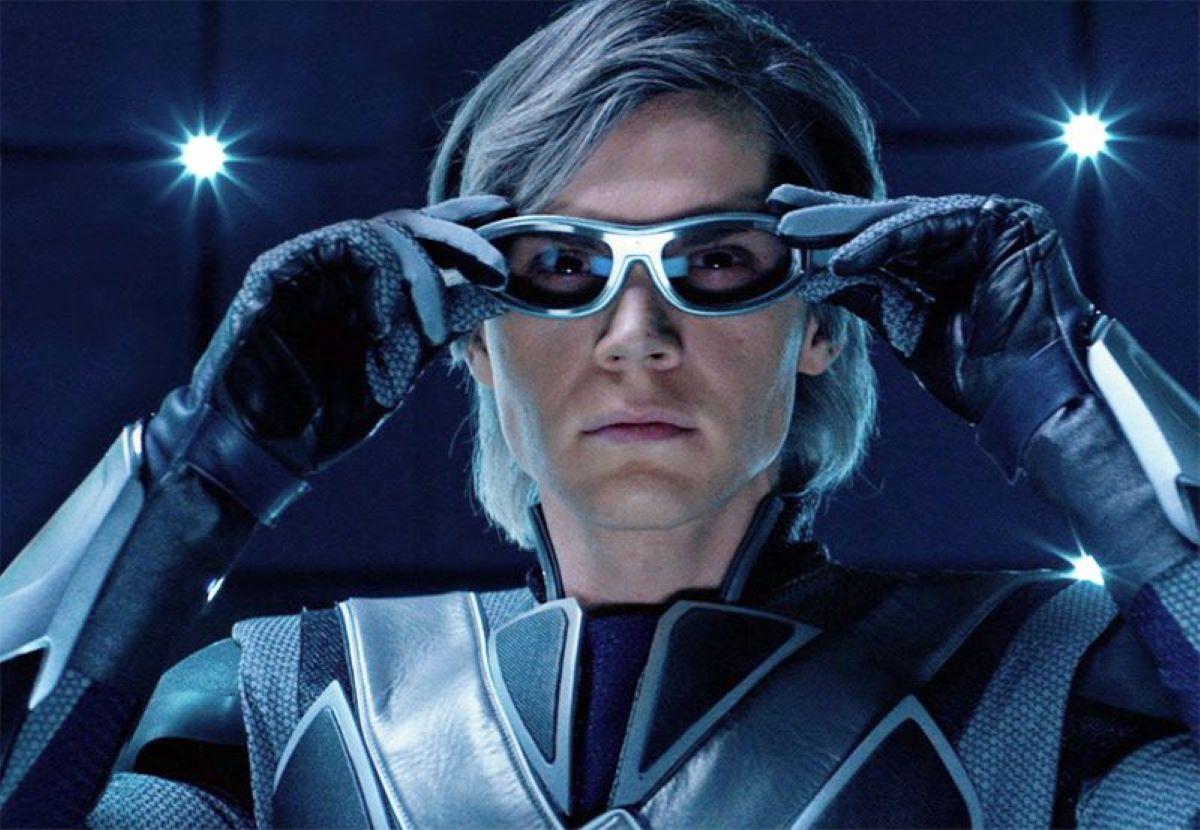 Evan Peters como Mercúrio na franquia X-Men (Divulgação / Fox)