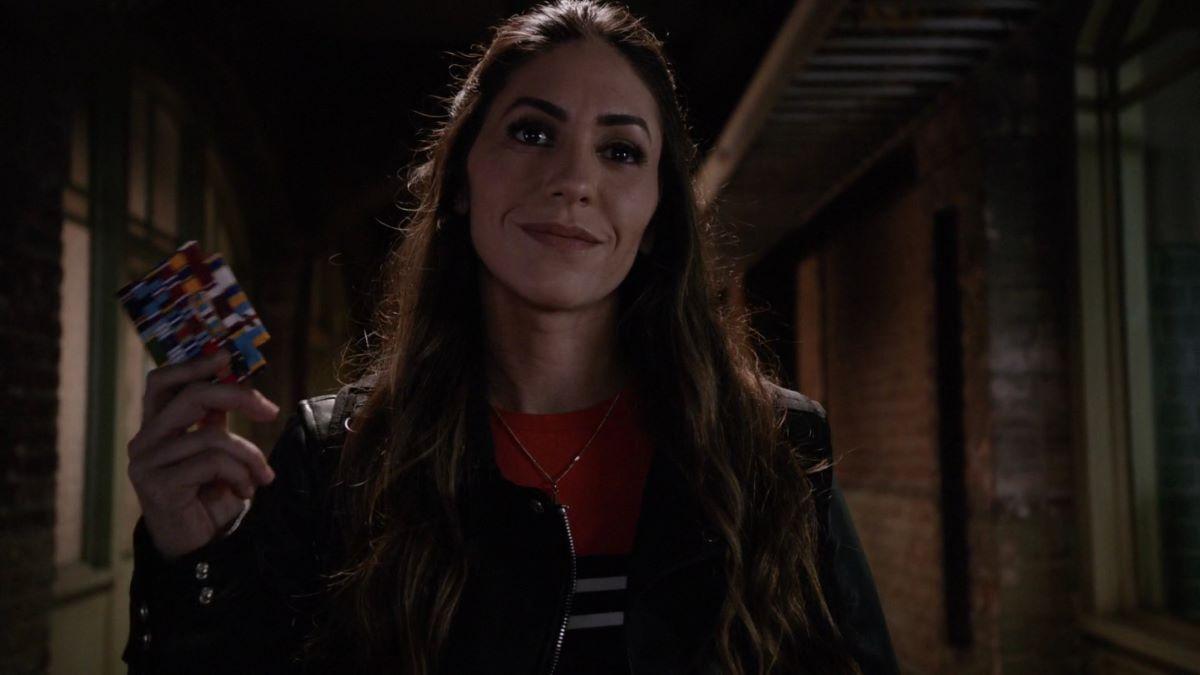 Natalia Cordova-Buckley como Yo-Yo em Agentes da S.H.I.E.L.D. (Foto: Reprodução)
