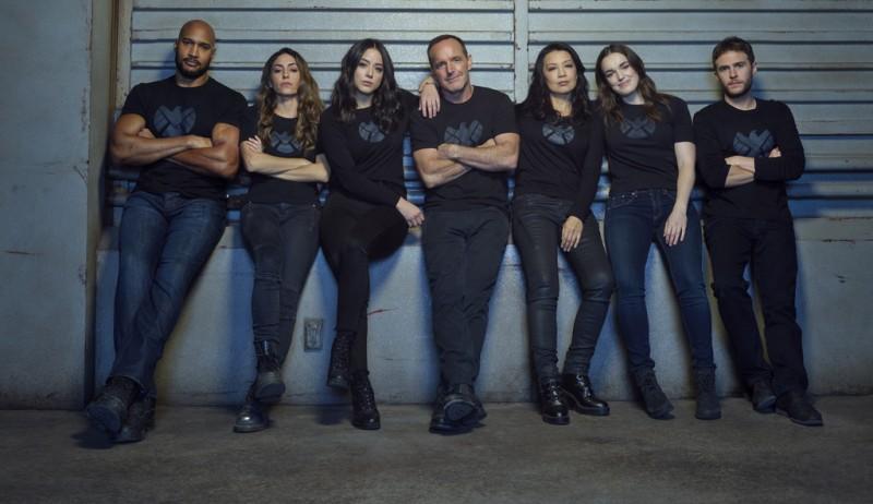 Elenco de Agents Of S.H.I.E.L.D. (Divulgação)