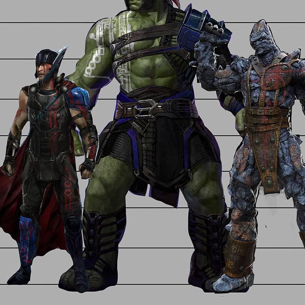 Arte conceitual de Thor: Ragnarok (Divulgação)