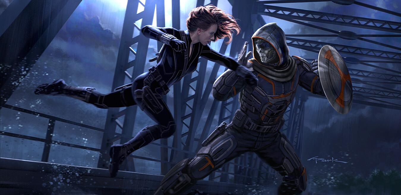 Viúva Negra (Andy Park / Marvel)