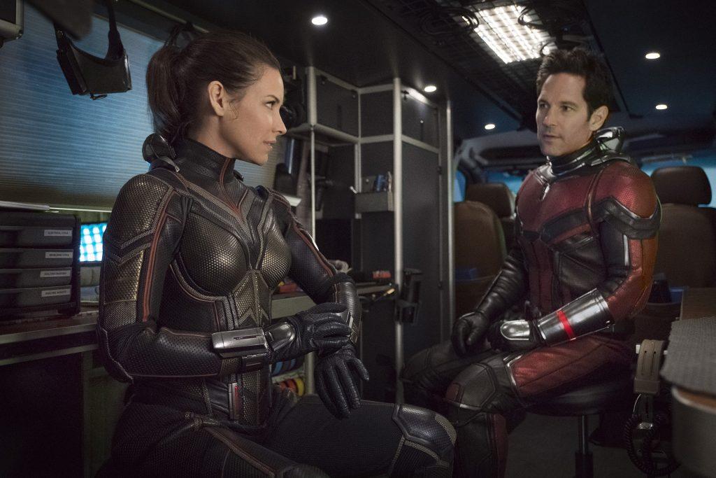 Hope (Evangeline Lilly) e Scott (Paul Rudd) em Homem Formiga e a