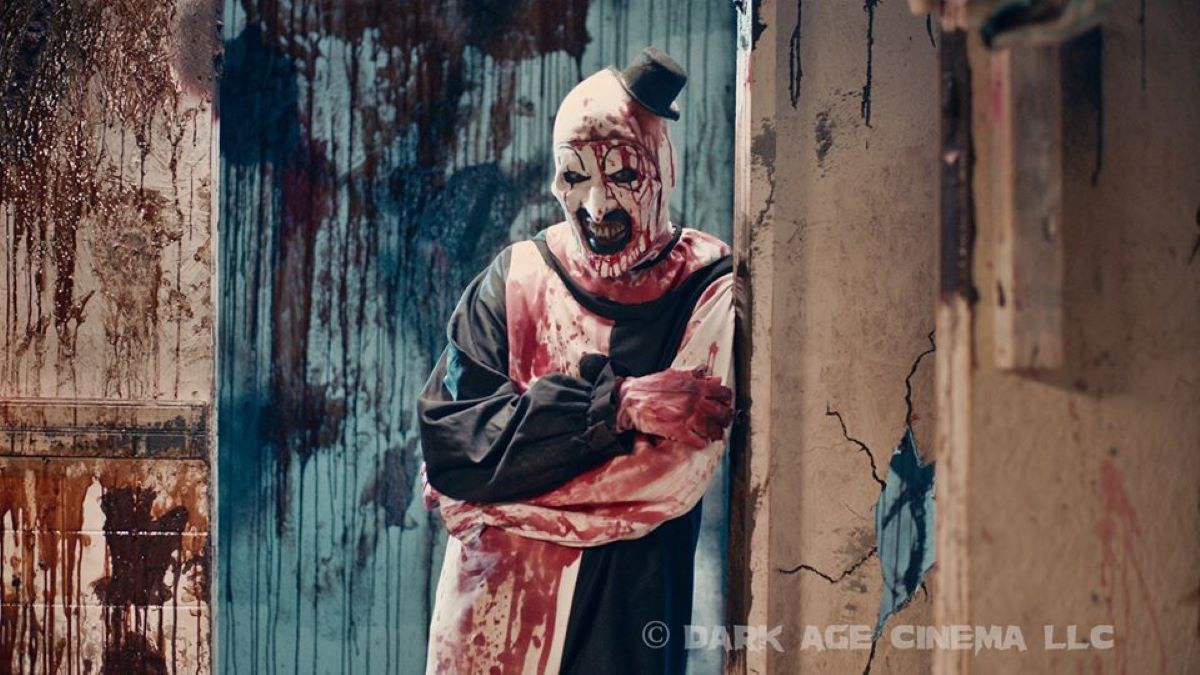 David H. Thornton como Art o Palhaço em Aterrorizante 2 (Divulgação)