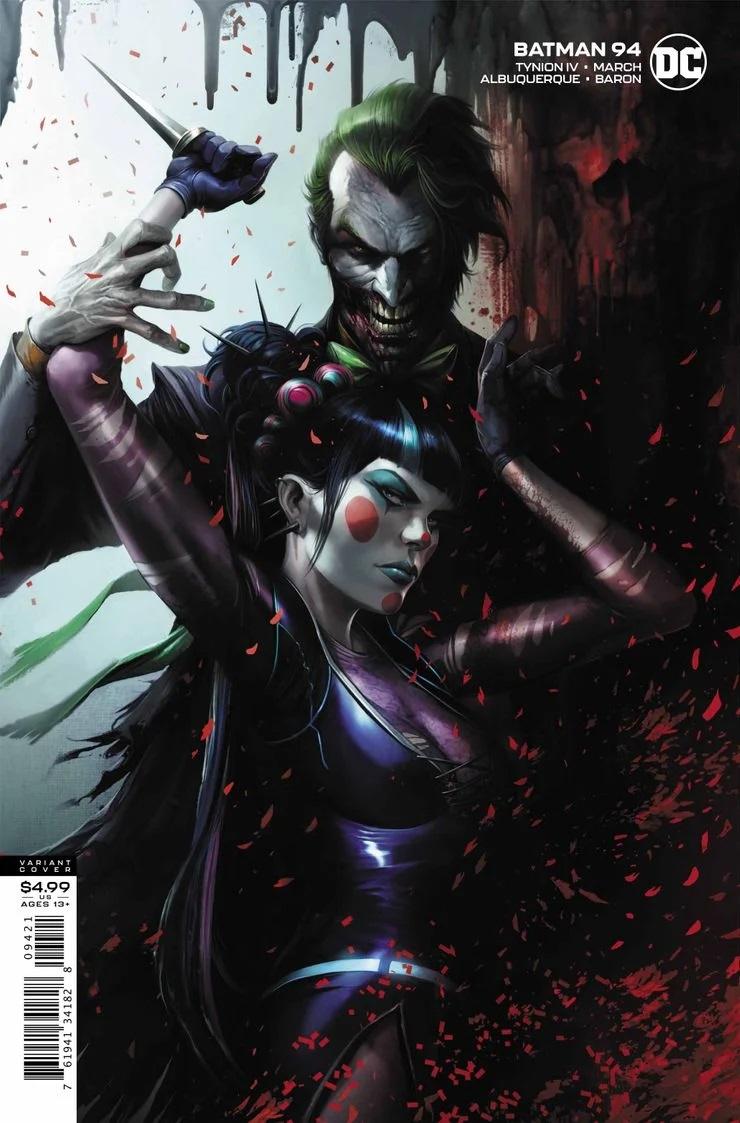 Capa variante de Batman #94 (Divulgação / DC Comics)