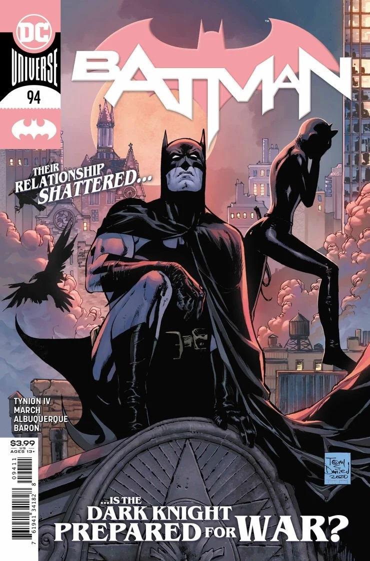 Capa de Batman #94 (Divulgação / DC Comics)