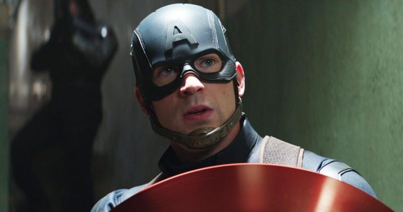 Chris Evans como Capitão América (Reprodução / Marvel)