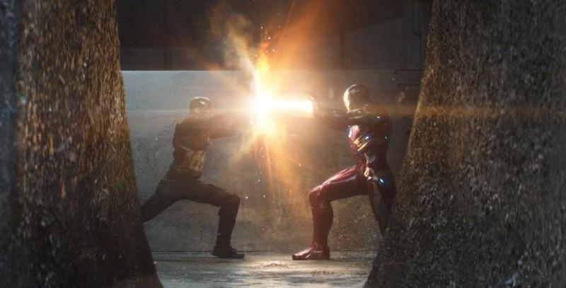 Cena de Capitão América: Guerra Civil