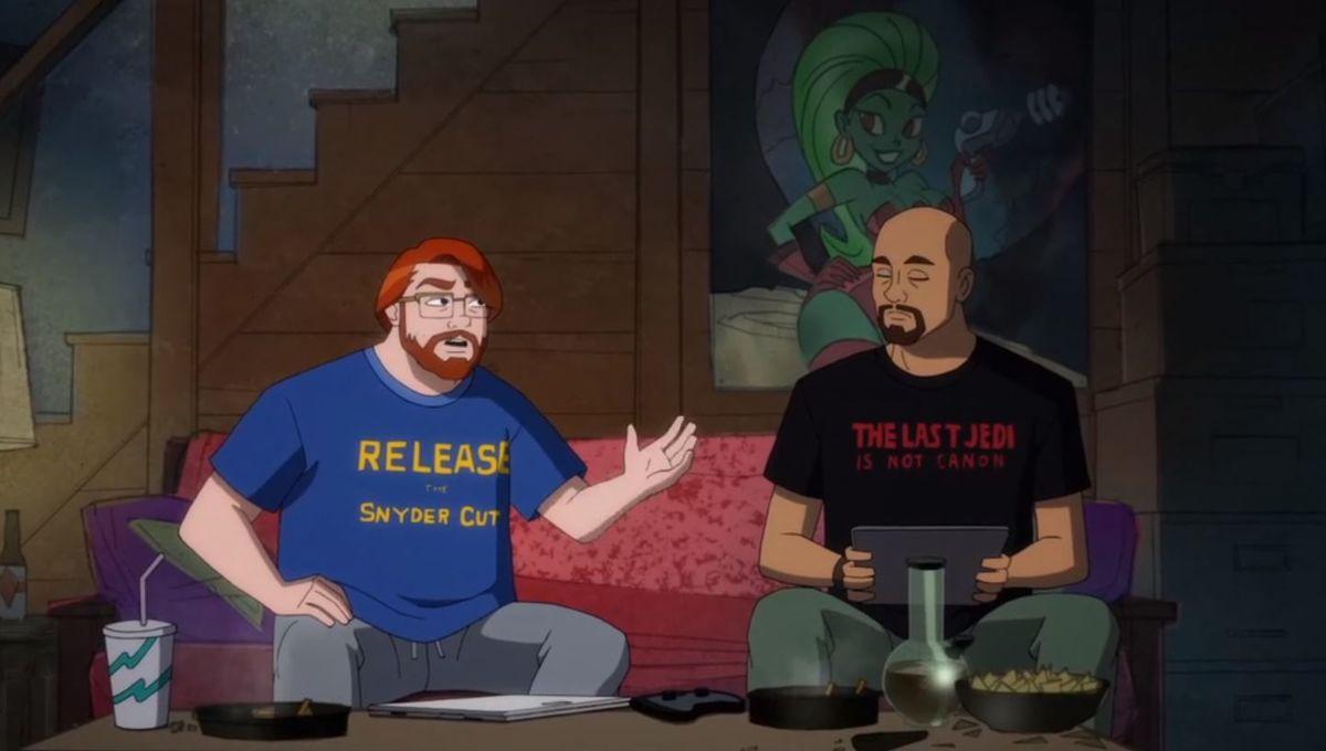 Cena de Harley Quinn (Reprodução / DC Universe)