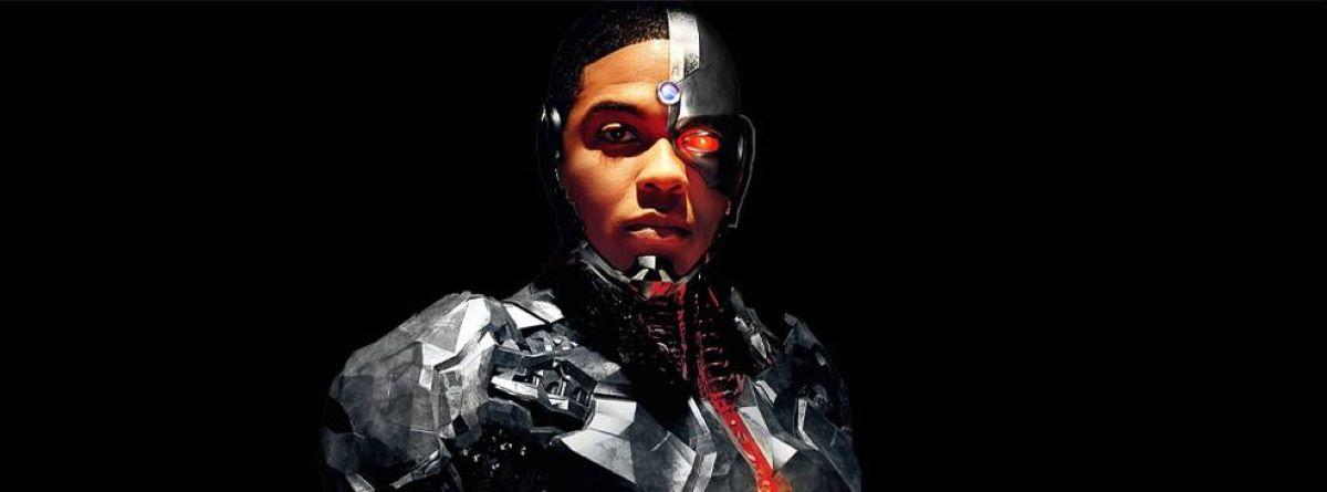 Ray Fisher como Ciborgue em Liga da Justiça (Divulgação / DC)
