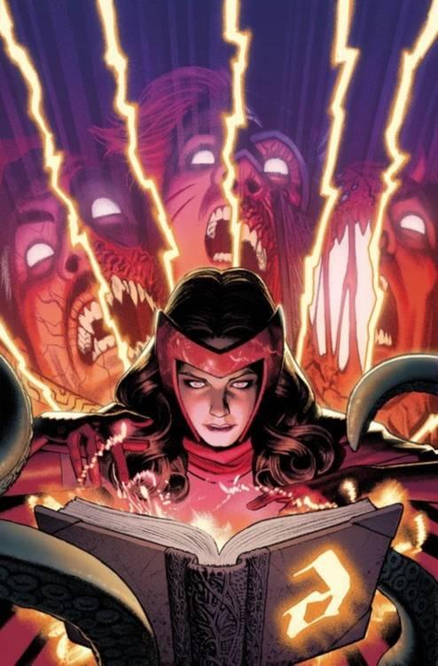 Feiticeira Escarlate (Divulgação / Marvel Comics)