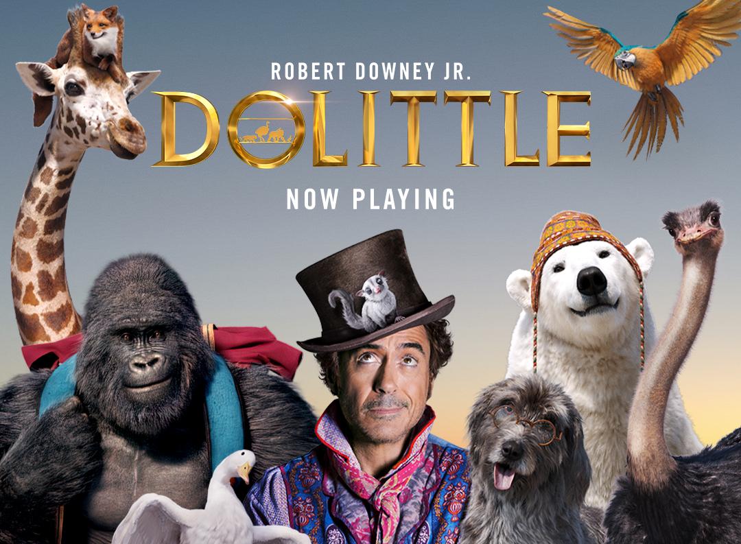 DR DOLITTLE - (Filme 2020)