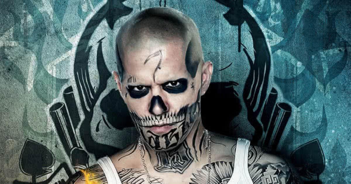 Jay Hernandez como El Diablo em Esquadrão Suicida (Divulgação)