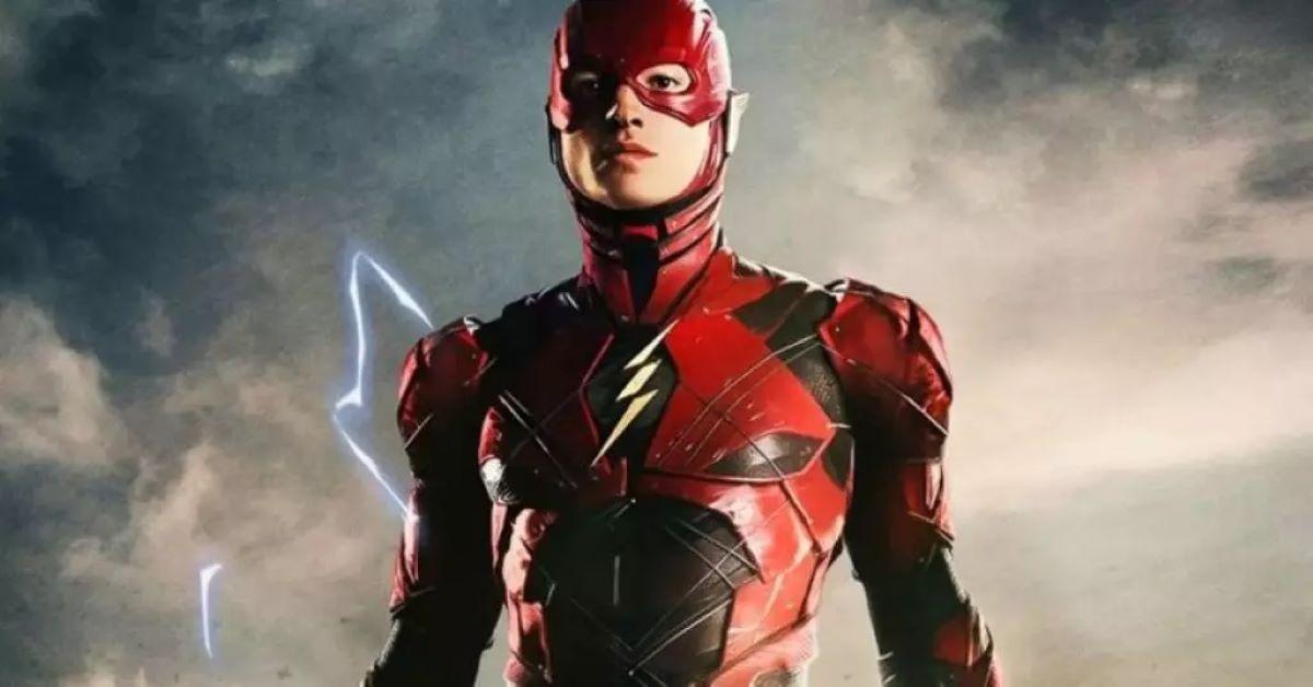 Ezra Miller como Flash (Divulgação / Warner)
