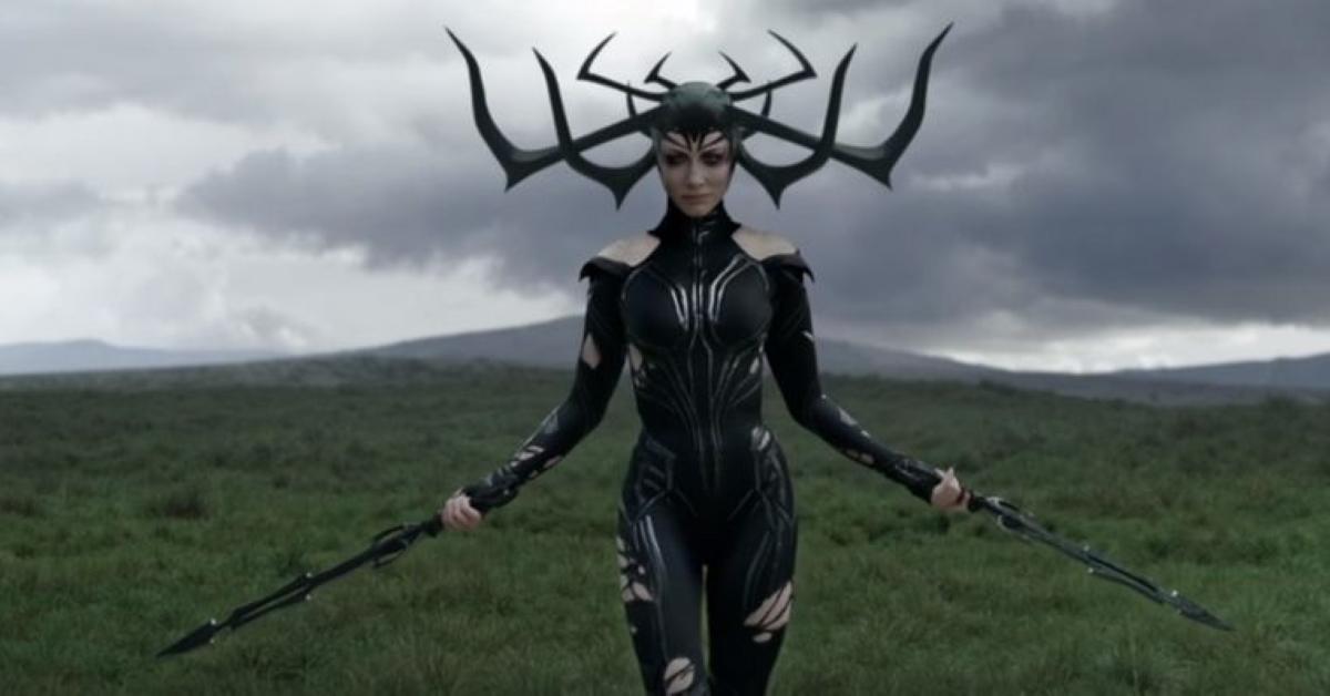 Cate Blanchett como Hela em Thor: Ragnarok (Reprodução / Marvel)