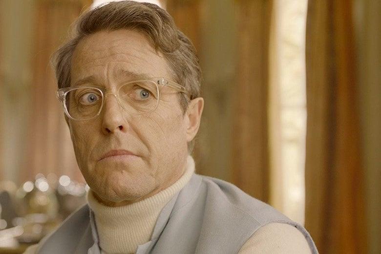 O ator Hugh Grant fez uma reclamação a respeito de Coringa nos cinemas (Imagem: Divulgação)