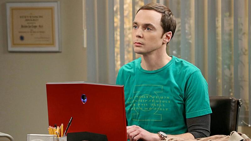Jim Parsons como Sheldon em The Big Bang Theory (Reprodução)