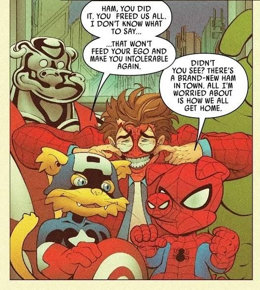 Porco-Aranha (Divulgação / Marvel Comics)