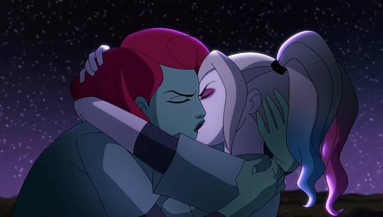 Hera Venenosa e Arlequina em Harley Quinn (Reprodução / DC Comics)