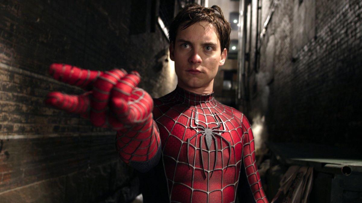 Tobey Maguire em Homem-Aranha (Foto: Reprodução)