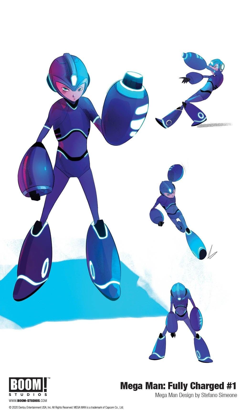 Mega Man: Fully Charged (Divulgação / BOOM! Studios)