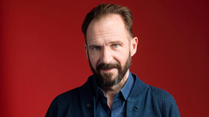 O ator Ralph Fienes