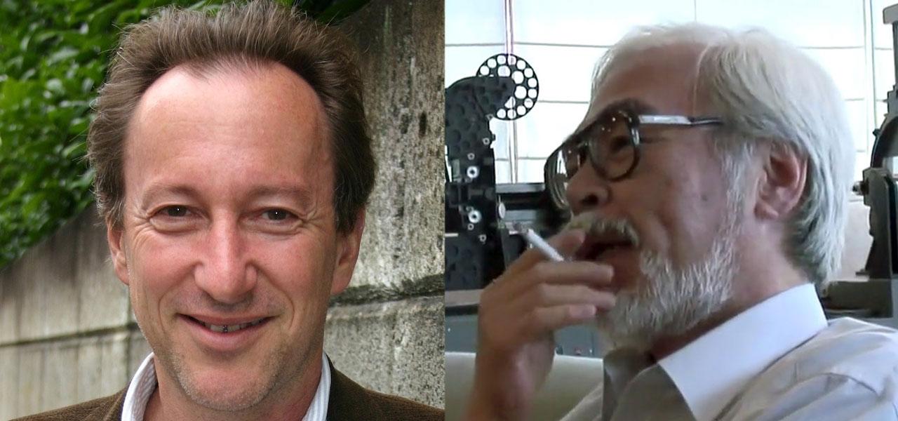 Steve Alperte e Hayao Miyazaki (Foto: Divulgação)