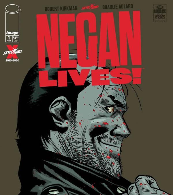 Capa de Negan Lives! (Imagem: Divulgação)