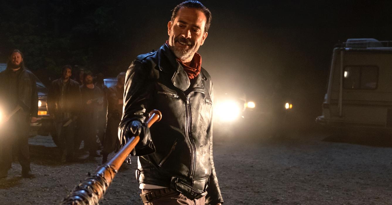 Negan, personagem vivido por Jeffrey Dean Morgan, em cena de The Walkind Dead (Imagem: Divulgação)