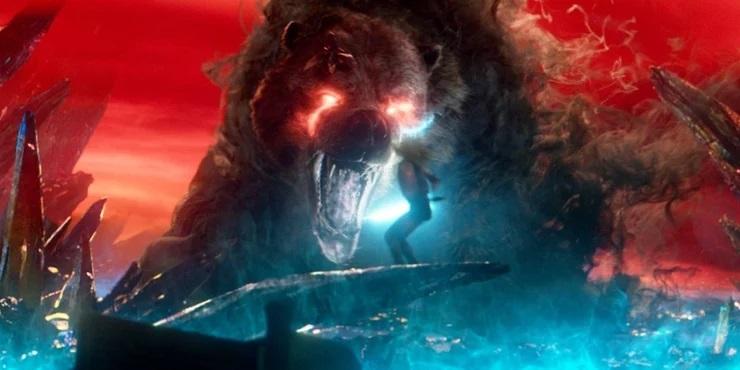 Urso Místico em Os Novos Mutantes (Divulgação)
