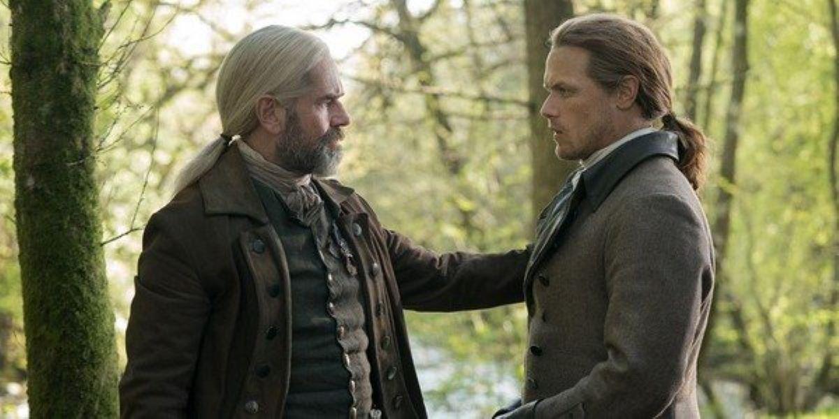 Cena de Outlander (Foto: Reprodução)