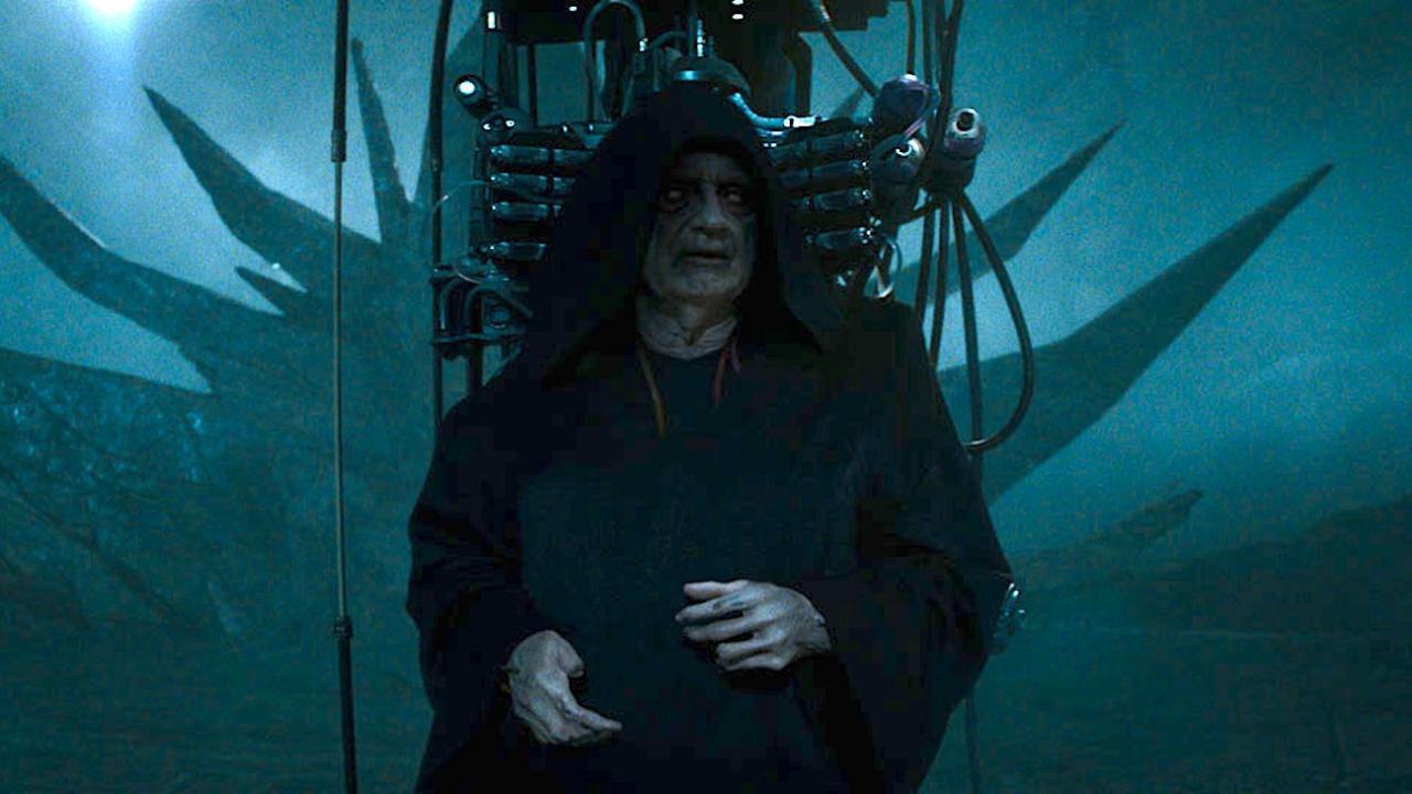 Ian McDiarmid como Palpatine em Star Wars: A Ascensão Skywalker (Foto: Reprodução)