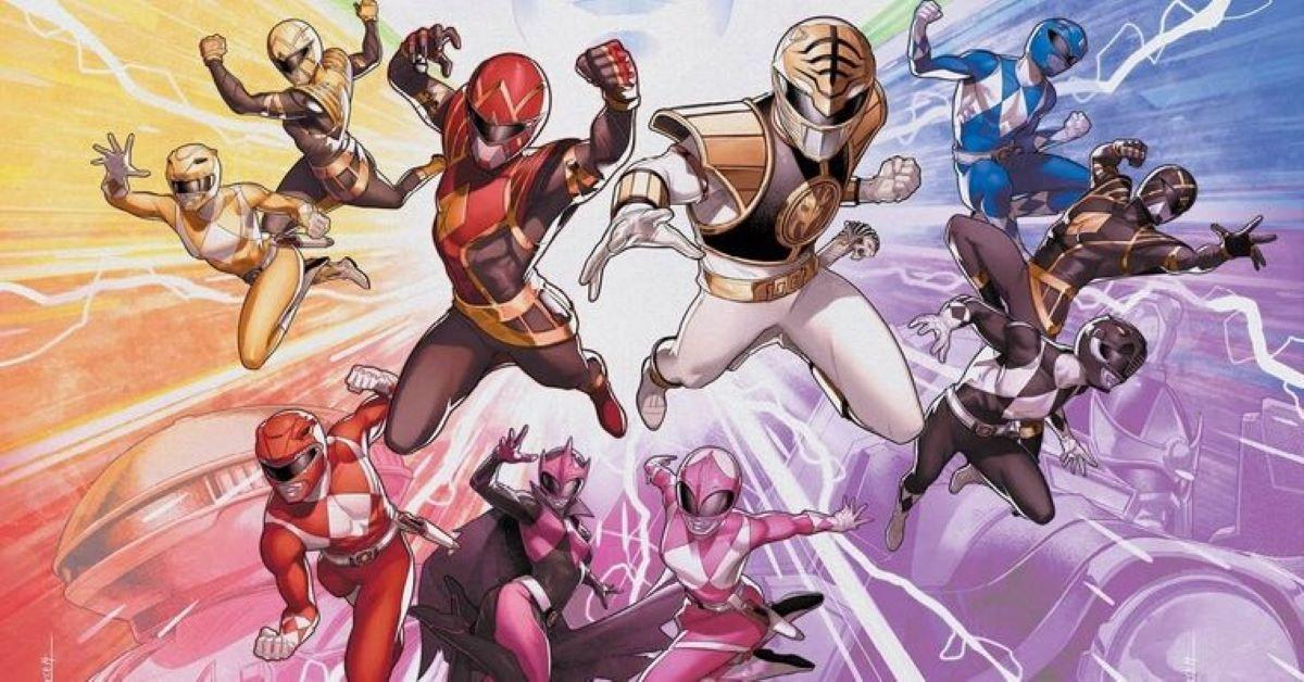 Mighty Morphin Power Rangers (Divulgação / BOOM! Studios)