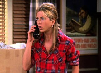 Jennifer Aniston como Rachel de Friends