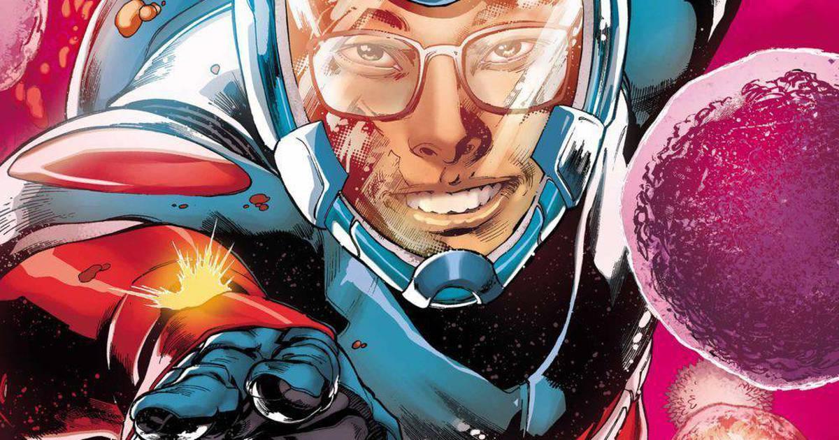 Rya Choi, o Átomo (Divulgação / DC Comics)