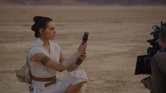 Bastidores de Star Wars: A Ascensão Skywalker (Imagem: Divulgação)