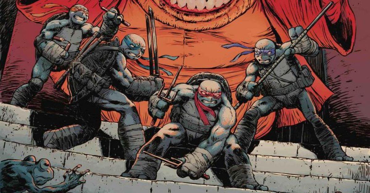 As Tartarugas Ninja (Divulgação / IDW Publishing)
