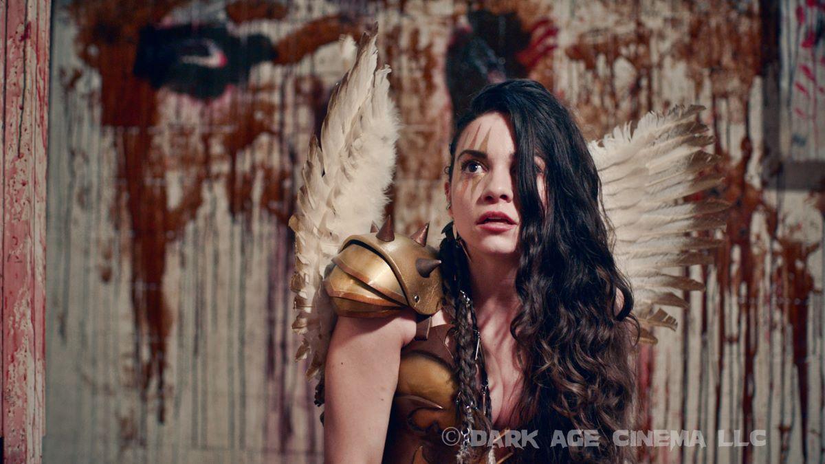 Lauren LaVera como Sienna em Aterrorizante 2 (Divulgação)