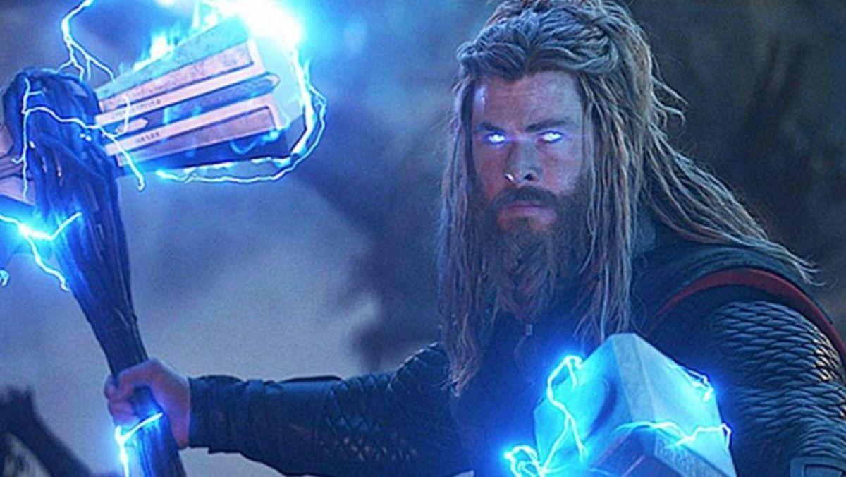 Chris Hemsworth como Thor em Vingadores: Ultimato (Reprodução / Marvel)