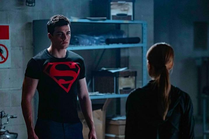 Cena do Superboy de Titãs