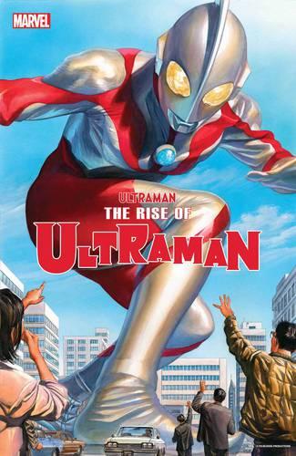 Capa de Ultraman: The Rise of Ultraman (Divulgação / Marvel Comics)